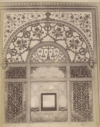 Screen in Palace [Khas Mahal], Fort, Delhi
